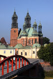 Cathedral in Poznan, Poland. Stock Photo