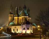 Cathedral Poznan, Poland Stock Photography