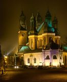 Cathedral Poznan, Poland Royalty Free Stock Photos