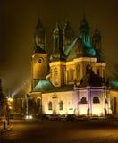 Cathedral Poznan, Poland Royalty Free Stock Photos