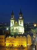 Cathedral of Prague Royalty Free Stock Images