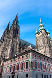 Cathedral in Prague Castle Royalty Free Stock Image