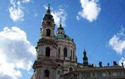Cathedral in Prague Royalty Free Stock Photography