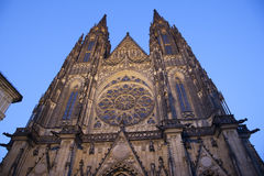 Cathedral in Prague Stock Photos