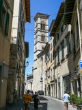 The Cathedral of Prato Stock Photo