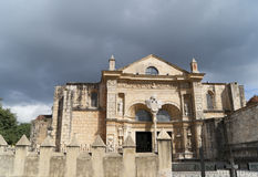 Cathedral Primada de America Santo Domingo Royalty Free Stock Images