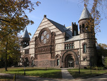Cathedral in Princeton. Historical building in Univercity campus Stock Photography
