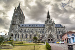 The cathedral of Quito Royalty Free Stock Photography