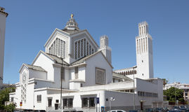 Cathedral in Rabat, Morocco Royalty Free Stock Photography
