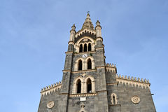 Cathedral of Randazzo Stock Photos
