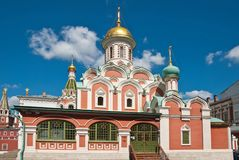 Cathedral on Red Square Stock Image