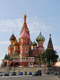 Cathedral on Red square Royalty Free Stock Photography