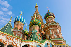 The Cathedral on the Red Square Stock Photography