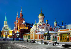 The Cathedral on red Square Moscow Royalty Free Stock Photography