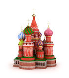 Cathedral on the Red Square in Moscow, Russia Royalty Free Stock Images