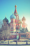 Cathedral on Red Square Stock Photography
