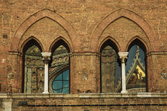 Cathedral Reflections, Siena, Italy Royalty Free Stock Photo