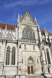 Cathedral of Regensburg Royalty Free Stock Images