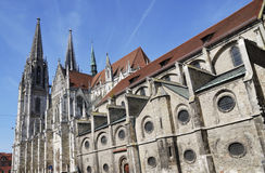 Cathedral of Regensburg Stock Image