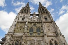 Cathedral of Regensburg Stock Photo