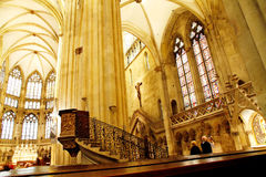 The Cathedral of Regensburg Stock Photo