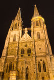 Cathedral of Regensburg Stock Photos