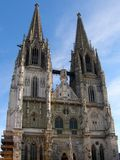 Cathedral in Regensburg Royalty Free Stock Image
