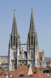 cathedral of Regensburg in Germany Stock Images