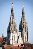 Cathedral Regensburg Stock Images