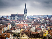 Cathedral Regensburg Royalty Free Stock Photos