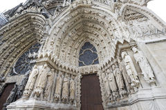 Cathedral of Reims - Exterior Stock Photos