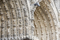 Cathedral of Reims - Exterior Royalty Free Stock Photo