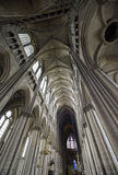 Cathedral of Reims - Interior Royalty Free Stock Photos