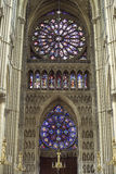 Cathedral of Reims - Interior Stock Images
