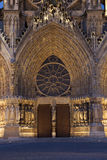 Cathedral of Reims Stock Photography
