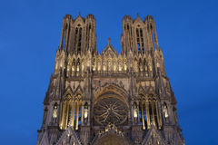 Cathedral of Reims Royalty Free Stock Photo