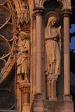 Cathedral of Reims Royalty Free Stock Images