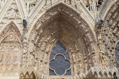 Cathedral of Reims Stock Photo
