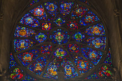 Cathedral of Reims Royalty Free Stock Photos