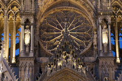 Cathedral of Reims Stock Image