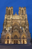Cathedral of Reims Stock Images
