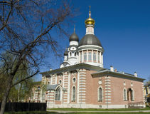 Cathedral of Resurrection of Christ, Moscow Royalty Free Stock Photos