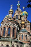 Cathedral of the Resurrection of Christ in Saint Petersburg Royalty Free Stock Photo