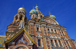 Cathedral of the Resurrection of Christ in Saint Petersburg, Russia.Church of the Savior on Blood. Cathedral of the Resurrection of Christ in Saint Petersburg stock photos