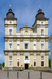 Cathedral of the Resurrection in Ivano-Frankivsk, Ukraine Royalty Free Stock Image