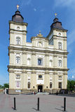 Cathedral of the Resurrection in Ivano-Frankivsk, Ukraine Royalty Free Stock Photo