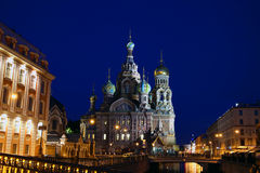Cathedral of the Resurrection on Spilled Blood   Royalty Free Stock Image