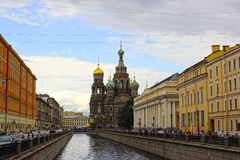 Cathedral of the Resurrection on Spilled Blood (Church of Our Sa Stock Photos