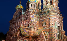 Cathedral of the Resurrection on Spilled Blood (Church of Our Sa Royalty Free Stock Photos