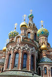 Cathedral of the Resurrection on Spilled Blood (Church of Our Sa Royalty Free Stock Photography